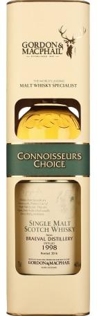 Gordon & MacPhail Braeval 1998 Connoisseurs Choice 70cl