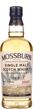 Mossburn No.4 Teaninich 10 years Cask Strength 70cl