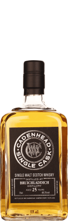 Cadenhead Bruichladdich 25 years Single Malt 70cl