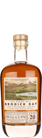 Arran 20 years Brodick Bay The Explorer Series 70cl