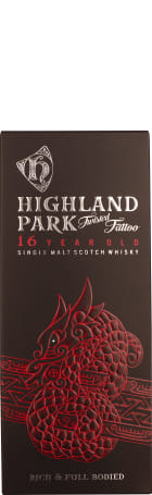 Highland Park 16 years Twisted Tattoo 70cl
