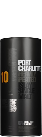 Port Charlotte 10 years Heavily Peated 1ltr