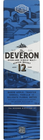The Deveron 12 years Single Malt 70cl
