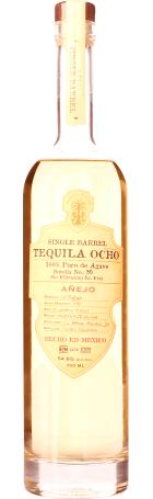 Tequila Ocho Anejo Single Barrel 70cl