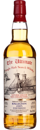 The Ultimate Ballechin 2005 Cask Strength 70cl