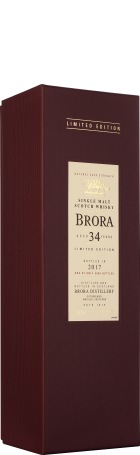 Brora 34 years Single Malt Special Release 2017 70cl