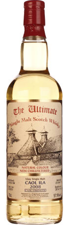 The Ultimate Caol Ila 2008 Cask Strength 70cl