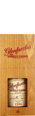 Glenfarclas Vintage 1986 Family Casks 70cl