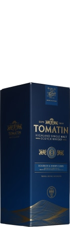 Tomatin 8 years Bourbon & Sherry Casks 1ltr