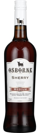 Osborne Sherry Medium Dry 75cl