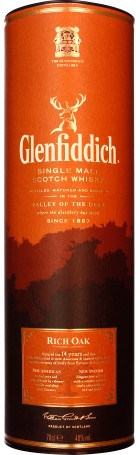 Glenfiddich 14 years Rich Oak 70cl