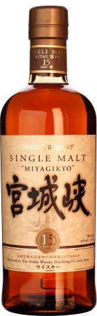 Nikka Miyagikyo 15 years Single Malt 70cl