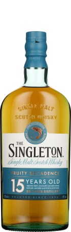 Singleton of Dufftown 15 years Single Malt 70cl