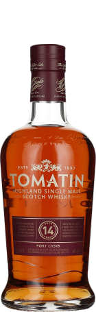Tomatin 14 years Port Wood Finish 2016 70cl