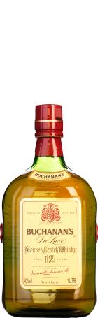 Buchanan's De Luxe 12 years 1ltr
