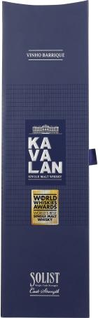 Kavalan Solist Vinho Barrique Single cask Strength 70cl