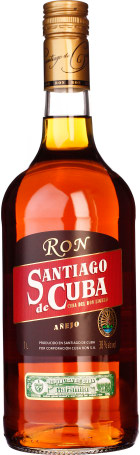 Santiago de Cuba Anejo 1ltr