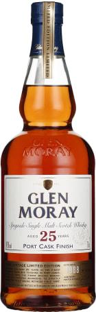 Glen Moray 25 years Port Cask Finish Single Malt 70cl
