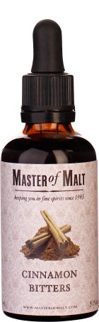 Master of Malt Cinnamon Bitter 5cl
