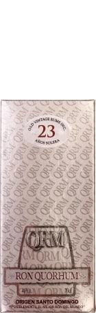 Ron Quorhum 23 anos Solera 70cl