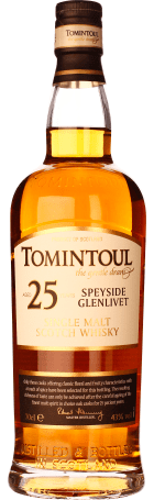 Tomintoul 25 years Single Malt 70cl
