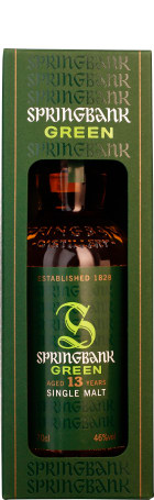 Springbank 13 years Green Single Malt 70cl