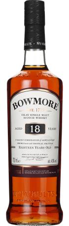 Bowmore 18 years Single Malt 70cl