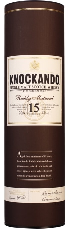 Knockando 15 years 1997 Richly Matures Single Malt 70cl