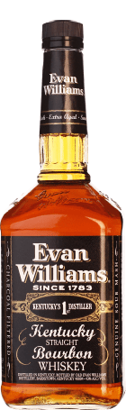 Evan Williams 7 years Bourbon Black Extra Aged 1ltr