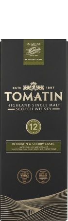 Tomatin 12 years Single Malt 2016 70cl