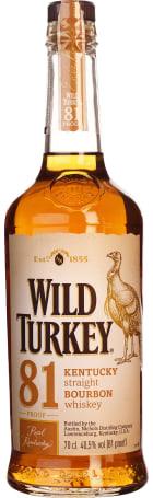 Wild Turkey Bourbon 81 Proof 70cl