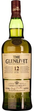 The Glenlivet 12 years Single Malt 1ltr