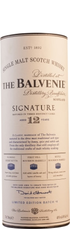 Balvenie 12 years Signature 70cl