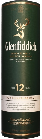 Glenfiddich 12 years Single Malt 70cl