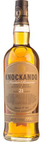 Knockando 21 years 1990 Old Master Reserve Single Malt 70cl