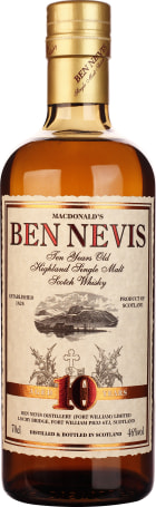 Ben Nevis 10 years Single Malt 70cl