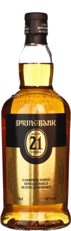 Springbank 21 years Single Malt 70cl