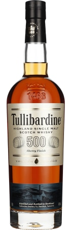 Tullibardine 500 Sherry Finish 70cl