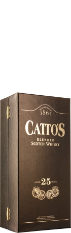 Catto's 25 years Blended Scotch Whisky 70cl