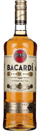 Bacardi Carta Oro 1ltr