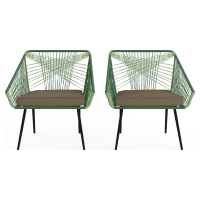Alicante Outdoor 2x Armchair
