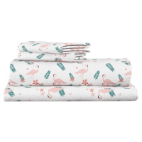 Flamingo Fun Kids Standard Sheet Set