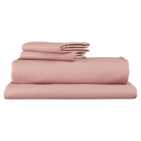 Supima Cotton Mellow Rose Standard Sheet Set