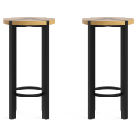 Tropea Outdoor Set of 2 Bar Stools