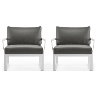 Lummus Outdoor Armchair Set of 2