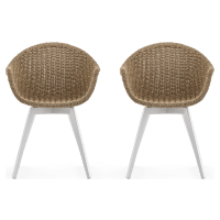 Ubud Outdoor Dining Chair Set of 2