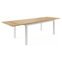 Malibu Outdoor Extendable Teak Dining Table 200/280cm