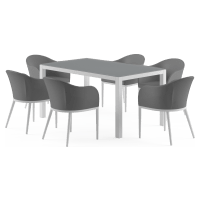 Matheson - Malibu 6 Seater Outdoor Dining Set