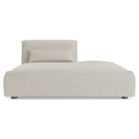Drake Open Modular Chaise Piece
