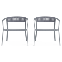 Cancun Outdoor Armchair Set of 2